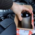 OPEL OMEGA B- замена топливного фильтра на дизельном двигателе 2.5 DTI