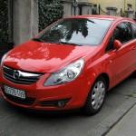 Замена передних колодок и тормозных дисков Opel Corsa D