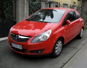 2007 Opel Corsa D