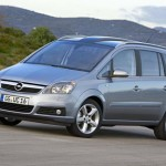 Замена задних тормозных колодок и дисков Opel Zafira B