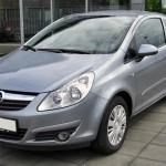 Замена свечей накала Opel Corsa D