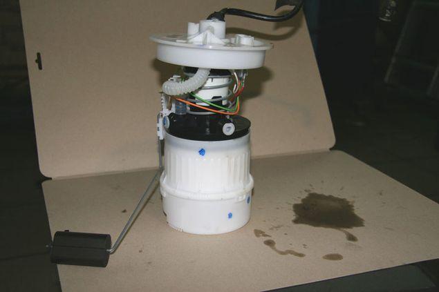 Фильтр и насос в одном корпусе