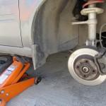Замена тормозных колодок ВАЗ-2114